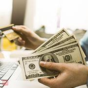 Cash back and reward points